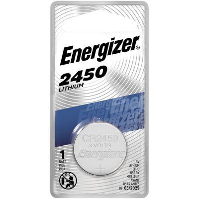 Eveready ECR2450BP Energizer 2450 Lithium Battery, 3 Volt - 72 / Case