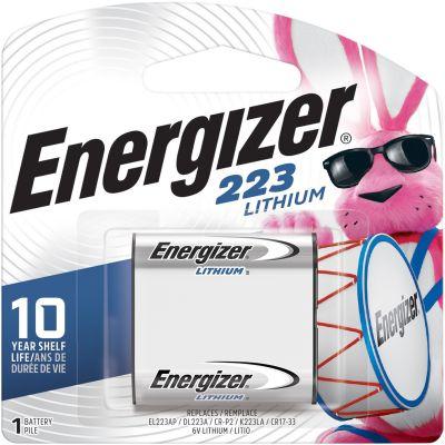 Eveready EL223APBP Energizer 223 e2 Lithium Battery, 6 Volt - 24 / Case