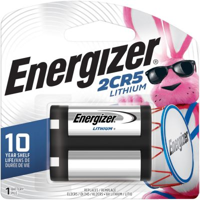 Eveready EL2CR5BP Energizer 2CR5 e2 Lithium Battery, 6 Volt - 24 / Case