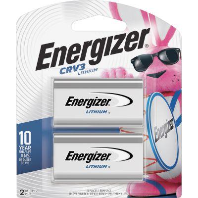 Eveready BELCRV3BP2 Energizer CRV e2 Lithium Battery, 3 Volt - 48 / Case