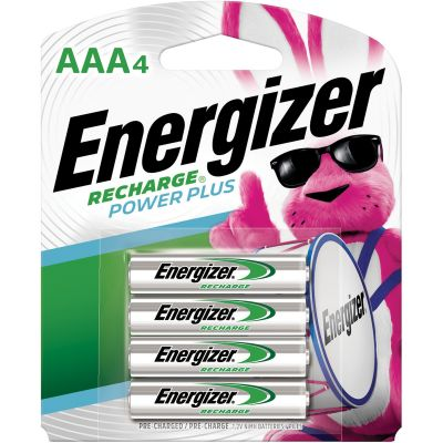 Eveready NH12BP4 Energizer Rechargeable NiMH Batteries, AAA Size - 96 / Case