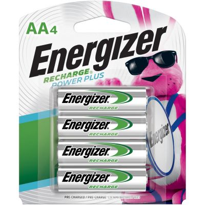 Eveready NH15BP4 Energizer NiMH Rechargeable Batteries, AA Size - 96 / Case