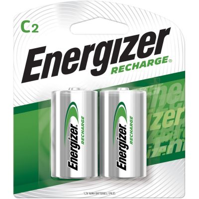 Eveready NH35BP2 Energizer NiMH Rechargeable Batteries, C Size - 48 / Case