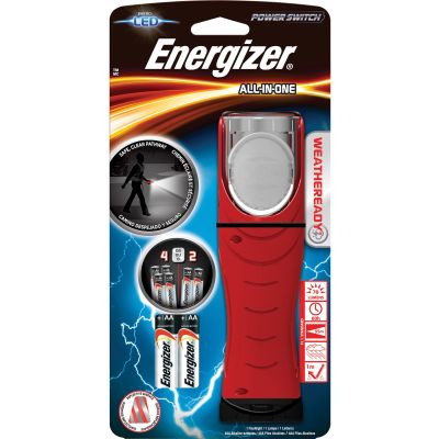 Eveready WRESA41E Energizer All-In-One Flashlight, 70 Lumen, Red - 1 / Case