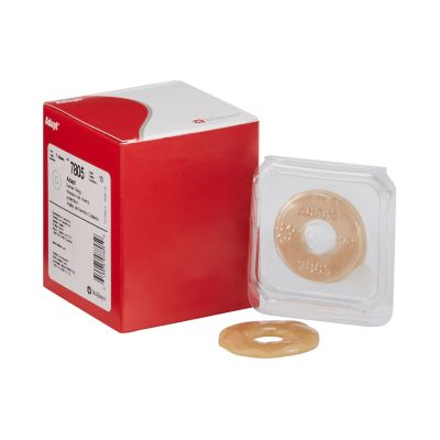 """Hollister 7805 SoftFlex Colostomy Skin Barrier Ring, Mold to Fit, Hydrocolloid, 2"""" w/ 13/15"""" Opening  - 10 / Case"""