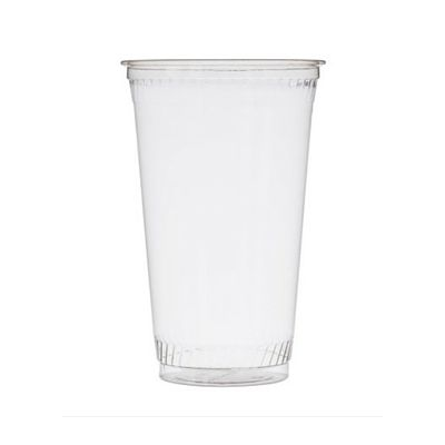 Fabri-Kal GC20 20 oz Greenware Corn Based Plastic Cold Cups, Clear - 1000 / Case