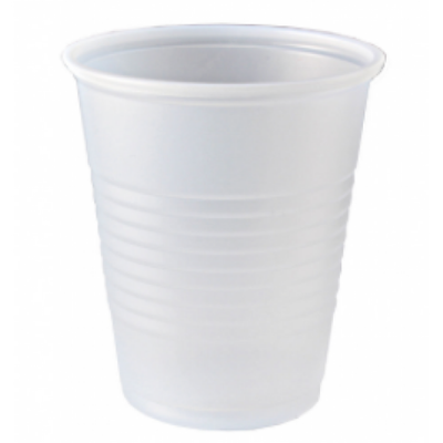 Fabri-Kal RK14 Right Kup 14 oz Plastic Cold Cups, Polystyrene, Translucent - 1000 / Case