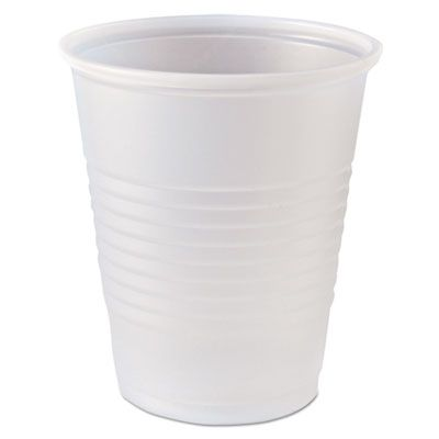 Fabri-Kal RK5 Right Kup 5 oz Plastic Cold Cups, Polystyrene, Translucent - 2500 / Case