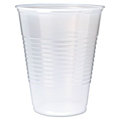 Fabri-Kal RK9 Right Kup 9 oz Plastic Cold Cups, Polystyrene, Translucent - 2500 / Case