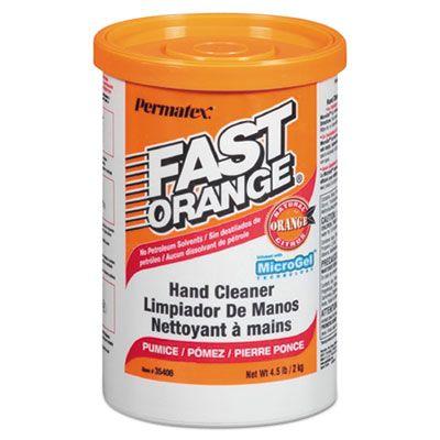 Fast Orange 35406 Pumice Hand Cleaner Cream, Orange Scent, 4.5 lbs - 6 / Case