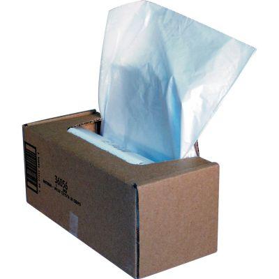 "Fellowes 36056 39 Gallon Shredder Bags for 325 Series, 21"" x 15"" x 39"", Clear - 50 / Case"