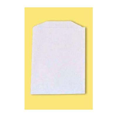 "Fischer Paper 611 Hash Brown Bags, 3.75"" x 5"", White - 1000 / Case"
