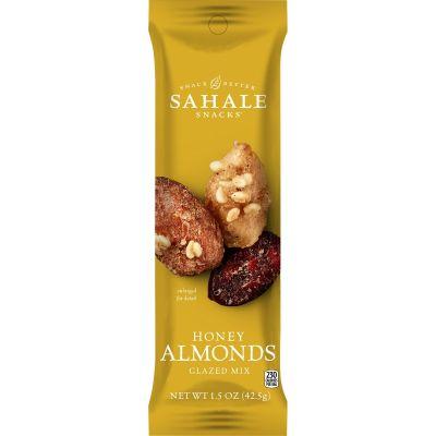Sahale Snacks 20 Honey Almonds Glazed Snack Mix, 1.5 oz Packet - 18 / Case
