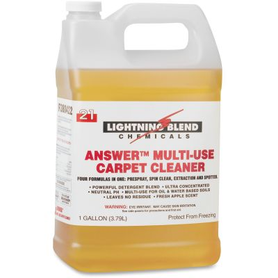 Franklin 380422 Answer Multi-Use Carpet Cleaner, 1 Gallon - 4 / Case