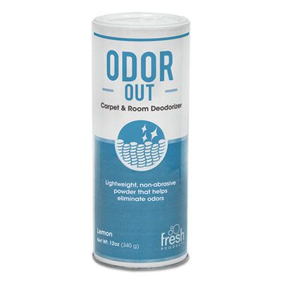 Fresh Products 121400BO Odor-Out Rug / Room Deodorant, Bouquet, 12 oz Shaker Can - 12 / Case