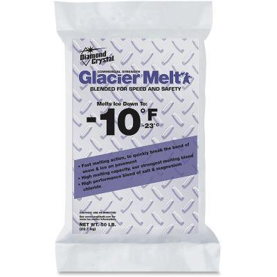 Garland C Norris 12609 Diamond Crystal Glacier Melt Snow / Ice Melter, 50 lb Bag - 1 / Case