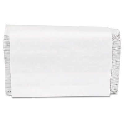 "General 1509 Multifold Paper Hand Towels, 9"" x 9-9/20"", White - 4000 / Case"
