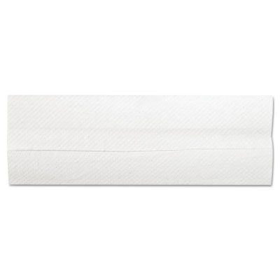 """General 1510 C-Fold Paper Hand Towels, 10"""" x 12"""", White - 2400 / Case"""