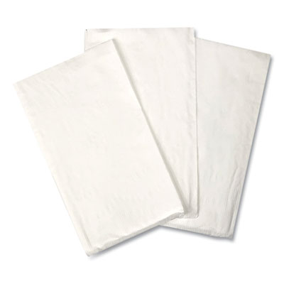 "General 15X17DINW GEN Paper Dinner Napkins, 2 Ply, 14.5"" x 16.5"", White - 3000 / Case"