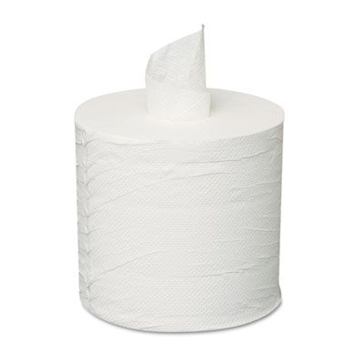 GEN 203 Center Pull Roll Paper Hand Towels, 2 Ply, White - 6 / Case