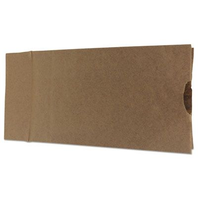 "General GK12 12 lb Paper Grocery Bags, 35#, 7-1/16"" x 4-1/2"" x 12-3/4"", Kraft - 1000 / Case"