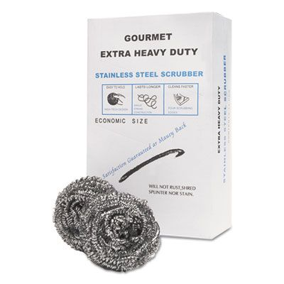 General SCRUBBER Stainless Steel Scrubbers - 72 / Case