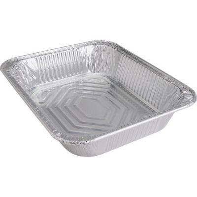 Genuine Joe 10702 Half Size Aluminum Foil Steam Table Pans, 128 oz - 100 / Case
