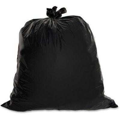 "Genuine Joe 01532 30 Gallon Trash Can Liners / Garbage Bags, 1.5 Mil, 30"" x 36"", Black - 100 / Case"