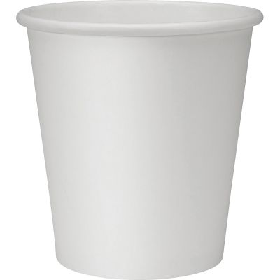 Genuine Joe 19046 10 oz Paper Hot Cups, Poly-Lined - 250 / Case