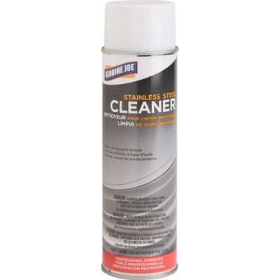 Genuine Joe 2114 Stainless Steel Cleaner & Polish, 15 oz - 12 / Case