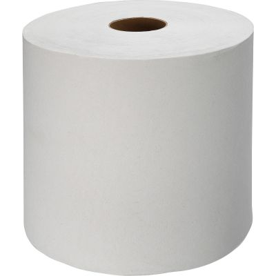 "Genuine Joe 22900 Hardwound Roll Paper Hand Towels, 7-7/8"" x 1000', White - 6 / Case"