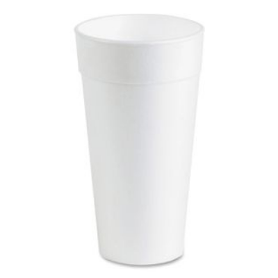Genuine Joe 25250 20 oz Foam Cups, White - 500 / Case