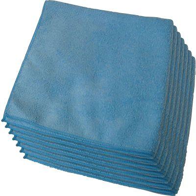 Genuine Joe 39506 Microfiber Glass Cleaning Cloths - 180 / Case