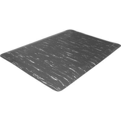 Genuine Joe 71210 Anti-Fatigue Floor Mat, Marble Top, 2' x 3' - 1 / Case