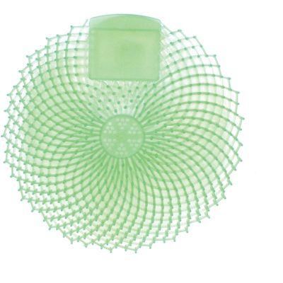 Genuine Joe 85155 Urinal Screen, Cucumber Melon, Green - 12 / Case