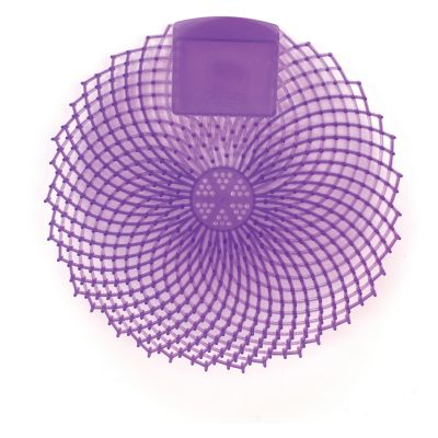 Genuine Joe 85156 Urinal Screens, Lavender Fields, Purple - 12 / Case