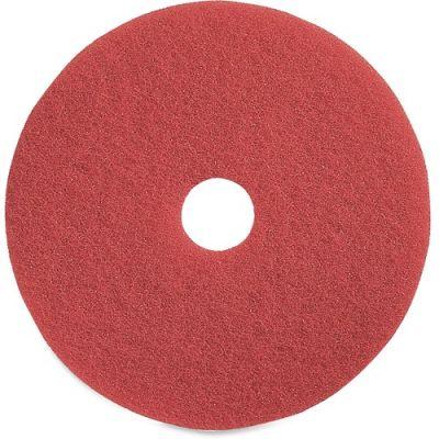 """Genuine Joe 90418 18"""" Red Buffing Floor Pad - 5 / Case"""