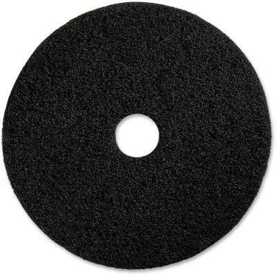 "Genuine Joe 94120 20"" Advanced Design Floor Pads, Black - 5 / Case"