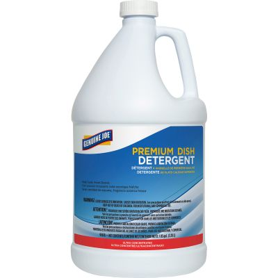 Genuine Joe 99678 Dish Detergent Liquid, 1 Gallon - 4 / Case