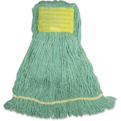 Genuine Joe SGR5B Green Mop Heads, Small - 12 / Case