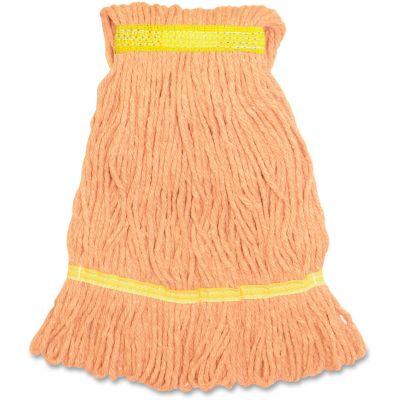 Genuine Joe SOR1B Orange Mop Heads, 12 oz - 12 / Case