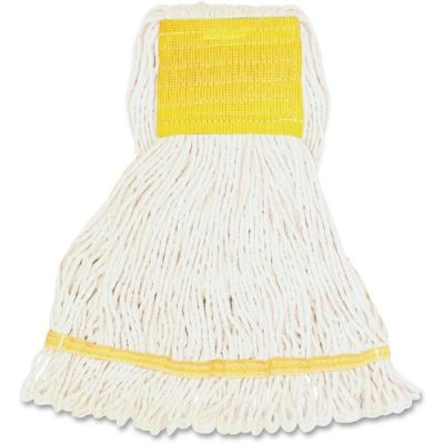 Genuine Joe SWH5B Synthetic Blend Mop Heads, Small - 12 / Case