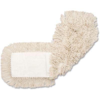 """Genuine Joe 2450 Cotton Dust Mop Head Refill, 24"""" - 12 / Case"""