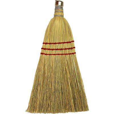 Genuine Joe 80161 Whisk Broom, Hang Up Ring, Natural - 12 / Case
