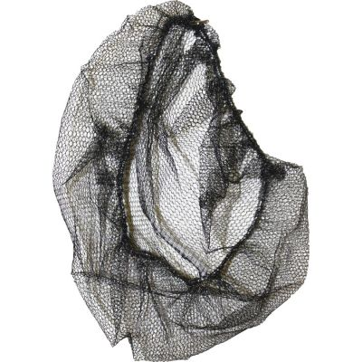 "Genuine Joe 85135 Hair Nets, Nylon, Nonwoven, Large, 21"", Black - 1000 / Case"