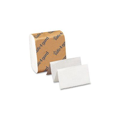 "Georgia-Pacific 10440 Safe-T-Gard Door Tissue, 4"" x 10"" - 8000 / Case"