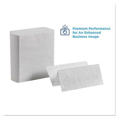 "Georgia-Pacific 20885 Pacific Blue Ultra C-Fold Paper Hand Towels, 8"" x 11"", White - 2600 / Case"