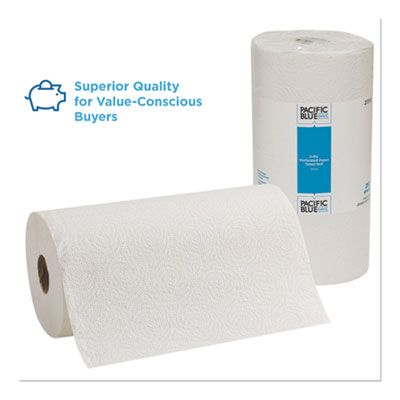 Georgia-Pacific 27700 Paper Towels, 2 Ply, 250 Sheets / Perforated Roll - 12 / Case
