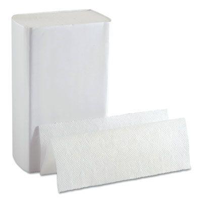 "Georgia-Pacific 33587 Ultra BigFold Paper Hand Towels, 10.8"" x 10.2"", White - 2200 / Case"