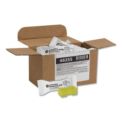 Georgia-Pacific 48255 ActiveAire Deodorizer Refill Cartridge, Citrus, Yellow - 12 / Case